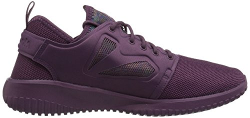 Reebok Womens Skycush Evolution Lux Fashion Sneaker Lavato Prugna