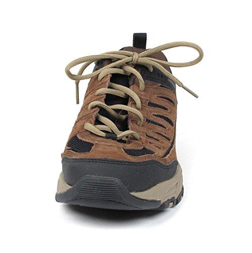 Skechers Herren Freefall Aufschwung Memory Foam Sneaker Schuh Braun