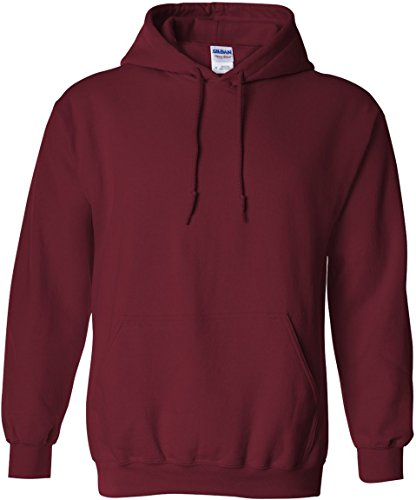 Gildan Heavy Blend Adult Hooded Sweatshirt, Garnet, Large