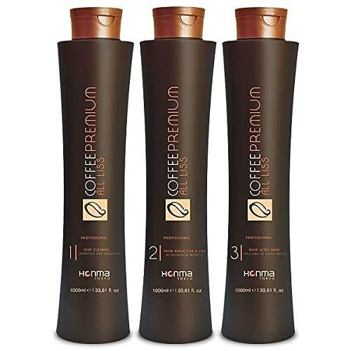 Coffee Premium All Liss Progressive Brush Kit 3x1L - Honma Tokyo