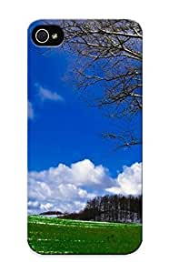 Iphone 5/5s Cover Case Design - Eco-friendly Packaging(melting Snow On The Field )