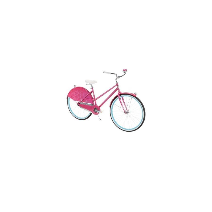 "26"" Huffy Premier Modern Cruiser Bike, Pink"