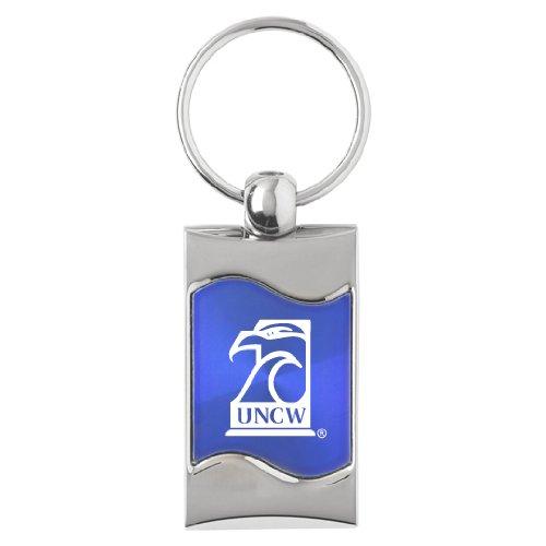 - University of North Carolina Wilmington - Wave Key Tag - Blue
