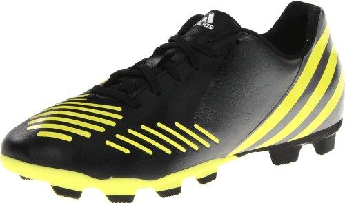 adidas Predito LZ TRX FG Soccer Cleat,Black/Lab Lime/Neo Iron Metallic,5.5 M US Big Kid (Shoes Adidas Predito Women)