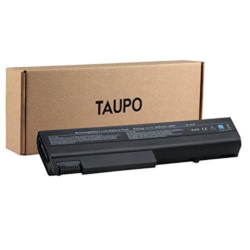 TAUPO TD06 TD09 Battery Replacement for HP Elitebook 8440P 8440W 6930P Compaq 6730B 6530B 6735B ProBook 6440B 6445B 6540B 6545B,fits P/N 482962-001 HSTNN-UB69 HSTNN-C68C HSTNN-IB69 HSTNN-UB68 KU531AA (Elitebook 8440p Battery)