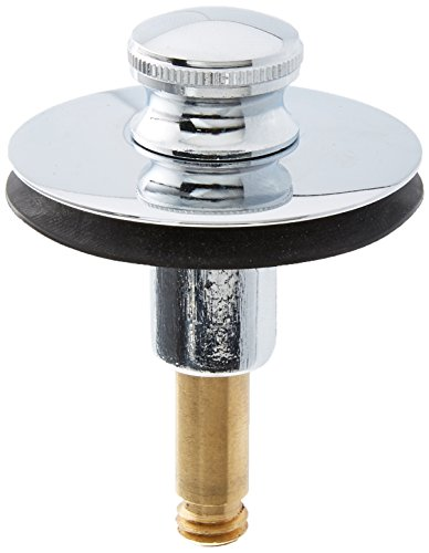 Lift Stopper - Watco 38810-CP Lift & Turn Replacement Brass Stopper with 3/8 Pin, Chrome Plated