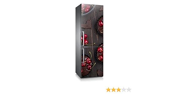Sticker fridge bamboo 70x170cm ref 509