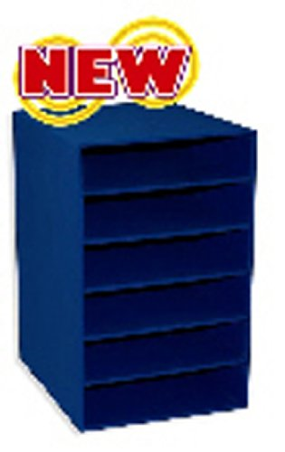 Pacon Six Shelf Organizer - 4 Pack PACON CORPORATION 6 SHELF ORGANIZER