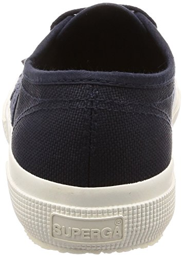 J47 Superga Sneaker Navy Full Cotu Women's White Blue 2750 fqprw7fx