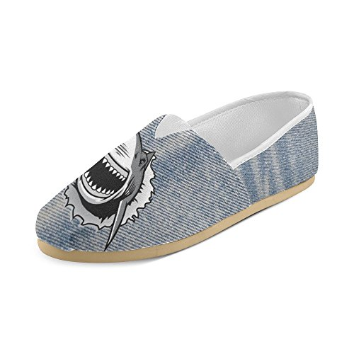 Shark Casual Shoes Loafers For Women (004) durable service