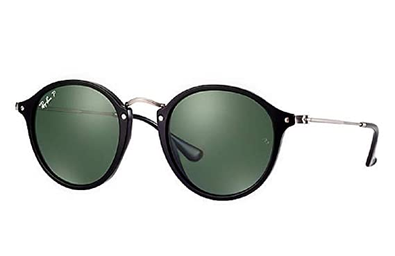 Amazon.com: Ray-Ban RB 2447 901/58 49 mm marco negro redonda ...