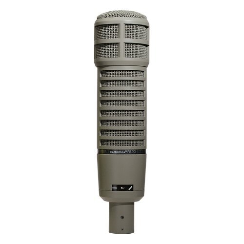 - Electro-Voice RE20 Broadcast Announcer Microphone with Variable-D