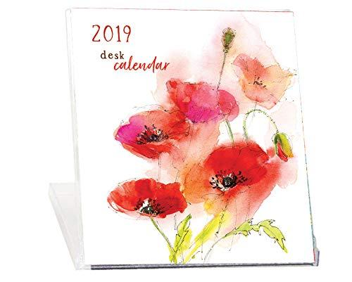 Cd Jewel Case Design - 2019 Floral CD Case Desk Calendar-Art by John Keeling Paintings