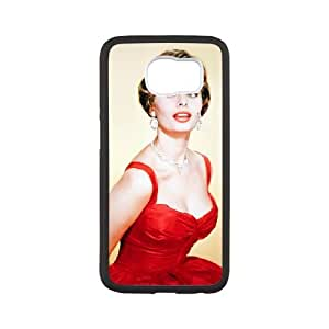 Samsung Galaxy S6 Cell Phone Case White Grace Kelly xlvd