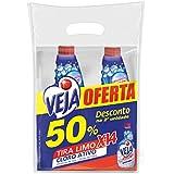 Limpador Banheiro X-14 Tira Limo Refil com 2 unidades de 500 ml cada, Veja