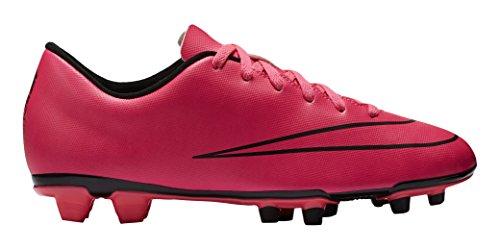 Nike Mercurial Vortex II FG Botas de fútbol, Hombre Rosa / Negro (Hyper Pink / Hyper Pink-Blk-Blk)