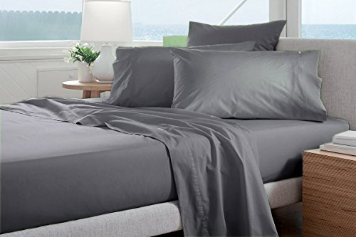 VGI Linen Authentic Heavy Quality Hotel Collection Egyptian Cotton Sheets- Super Soft 1500 Thread Count 4-PCs Sheet Set Fits 14-16
