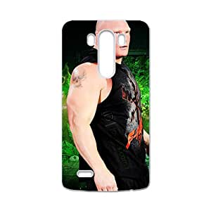 WWE Brock Lesner Wrestling Fighting White Phone Case for LG G3