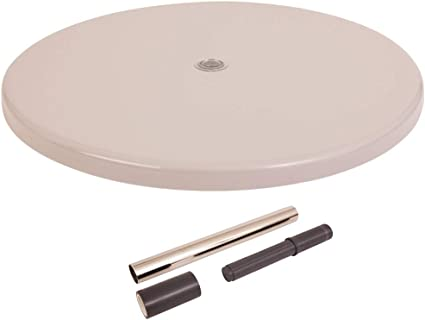 Cappuccino inch S.R.Smith PL-30 UMB TABLE-57 30 Umbrella Hole in-Pool Table