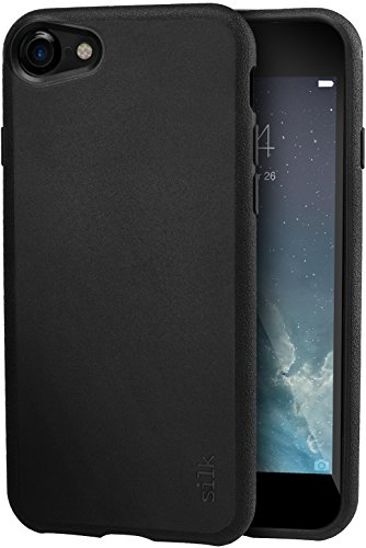 Silk iPhone 8 / iPhone 7 Slim Case - Kung Fu Grip [Lightweight + Protective] Thin Cover for Apple iPhone 7/8 - Black Tie Affair