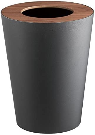 Trash Can Open Round Basket Home Office Waste Garbage Bin hide Bag