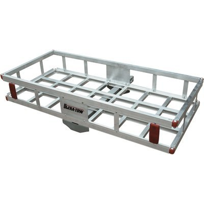 500 Lb Hitch Mount Hual Aluminum Cargo Carrier Basket (ALUMCARGOCARRIER#92655) by TMS