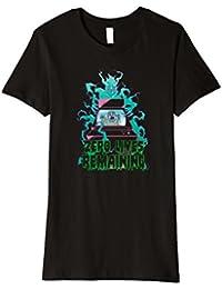 Zero Lives Remaining: A Haunted Arcade T-Shirt