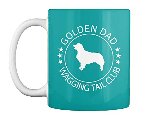 Golden dad wagging tail club Mug - Teespring Mug