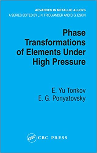 Read Phase Transformations of Elements Under High Pressure (Advances in Metallic Alloys) PDF