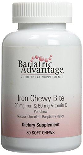 Bariatric Advantage Iron Chew Bite Chocolate Raspberry Truff