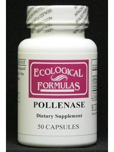 Ecological Formulas - Pollenase 50 caps by ECOLOGICAL FORMULAS