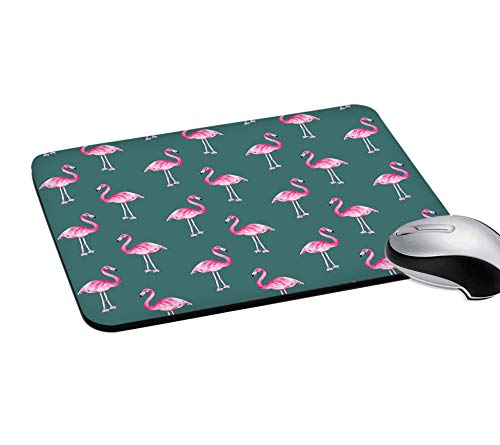 RADANYA Rectangular Gaming Mouse PadFlamingo Printed