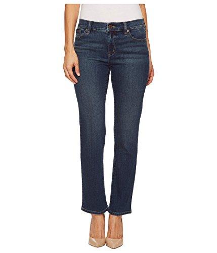 (Lauren Ralph Lauren Women's Petite Slimming Classic Straight Jeans Harbor Wash 14 27 Petite)