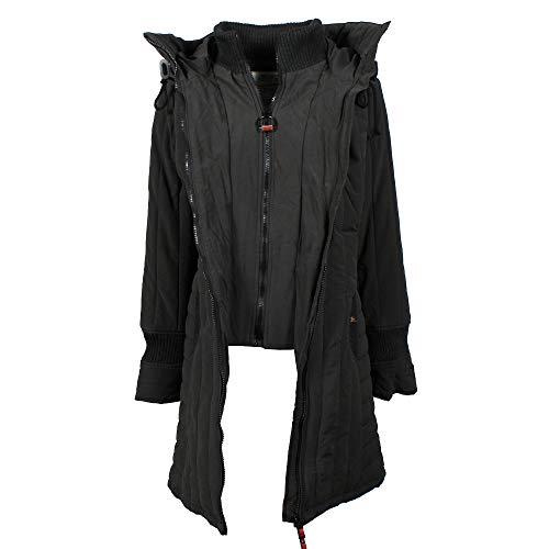 Zeagoo Damen Winter Hoodie Fleece Jacke gepolsterte Jacke