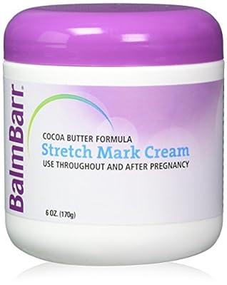 BalmBarr Cocoa Butter Formula Stretch Mark Cream 6oz