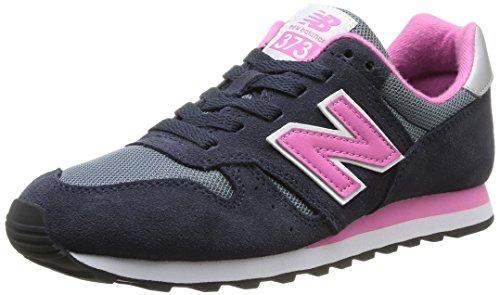 New Balance W373SNP - Calzado para mujer, color azul / gris / rosa, talla 39