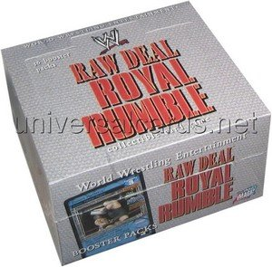 Raw Deal Card Game - Royal Rumble Booster Box - 36P by Raw Deal