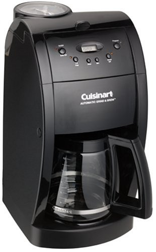 Factory-Reconditioned Cuisinart DGB-500BKFR Grind & Brew 12-Cup Automatic Coffeemaker, Black