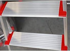 Escalera SUPER de Tijera de Aluminio Peldaño Ancho 12 cm (7 Peldaños con Ancho 12 cm). BTF-TJB307: Amazon.es: Bricolaje y herramientas
