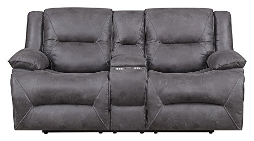 MorriSofa Everly Reclining Love Seat