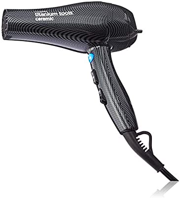Amazon.com: Conair Pro Titanium Tools Ceramic 2000w Turbo Charged Dryer: Beauty