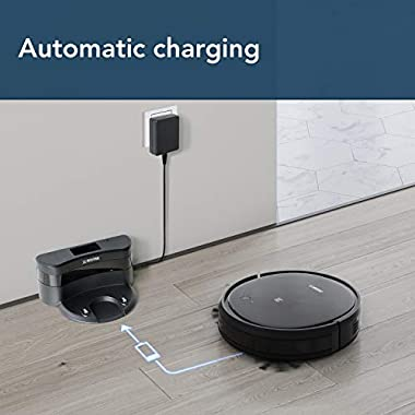 ECOVACS Deebot 500 Robots Vacuum Cleaner with Robotic Smart APP Control, Max Mode Suction Power, 3-Stage Cleaning System Compatible with Alexa (Black) 12