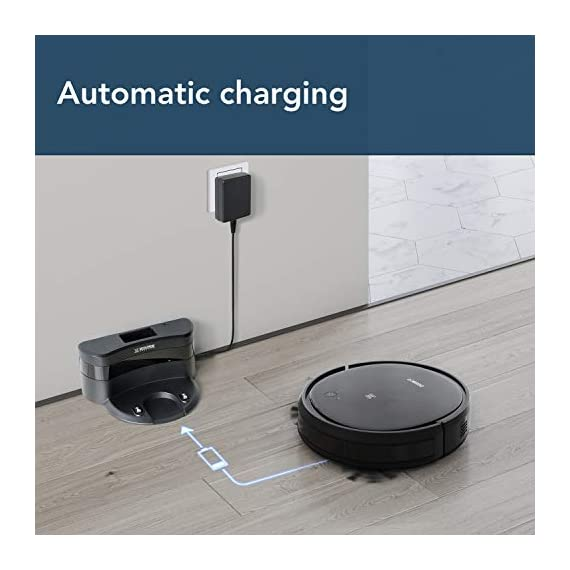 ECOVACS Deebot 500 Robots Vacuum Cleaner with Robotic Smart APP Control, Max Mode Suction Power, 3-Stage Cleaning System Compatible with Alexa (Black) 6