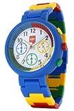 LEGO Unisex 3408CRO3 Chronograph Multi-Colored Links Watch