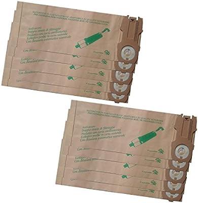reyee 10 paquetes Hoover bolsas de polvo de robot aspiradora ...