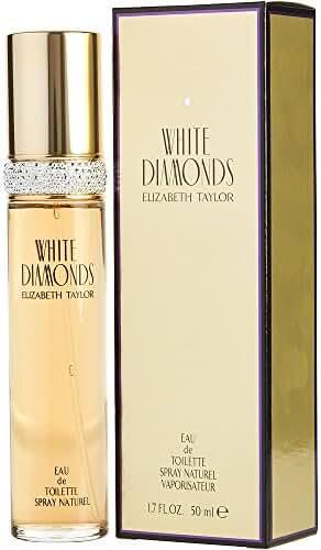 WHITE DIAMONDS by Elizabeth Taylor EDT SPRAY 1.7 OZ (Package Of 3)