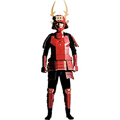 Would you wear! Cardboard armor costume SanadaYukimura: Toys & Games