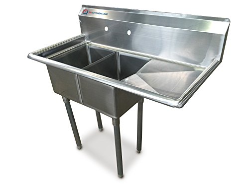 Galleon Eq 1 Compartment Commercial Kitchen Sink Stainless