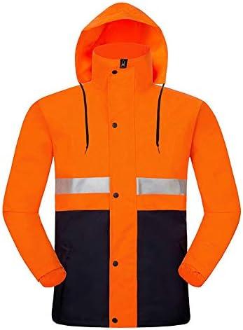 ポケット付き耐性寒冷気候安全ジャケットクラスの水 (Color : Orange, Size : XXXXL)