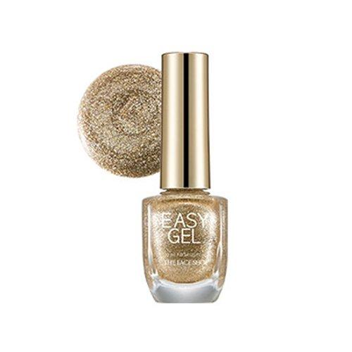 [The Face Shop] Easy Gel 10ml #18 Golden Fantasy (Coat Fantasy Gel)